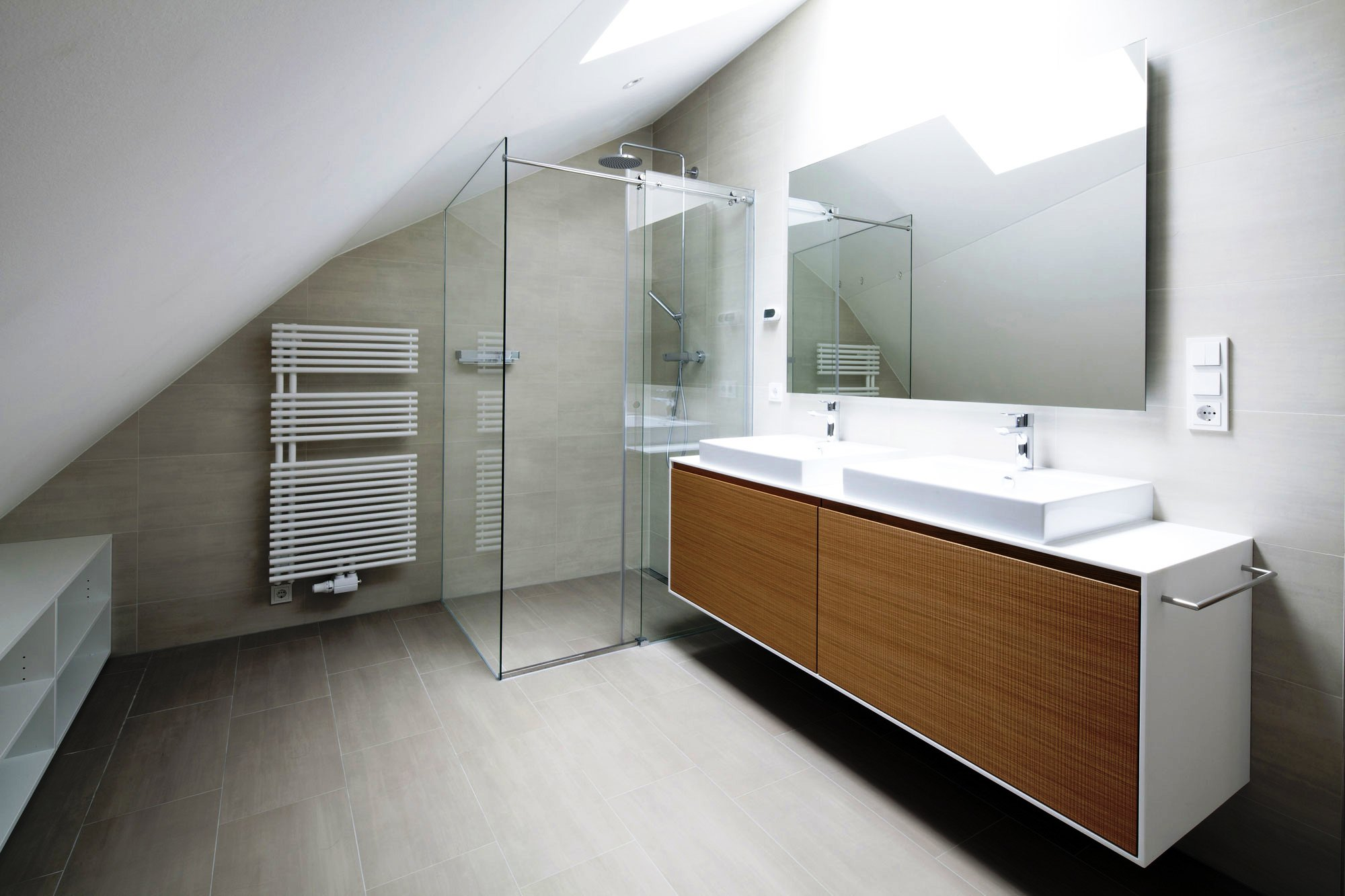 Bathroom-Space-with-Glass-Shower-Room-and-Modern-Vanity-Furniture